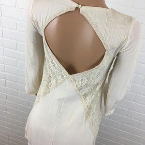 Pull & Bear off white dress